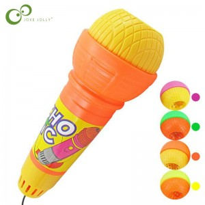 1PC Microphone Toys for Girls boys Echo Microphone Mic Voice Changer Toy Gift Birthday Present Kids Party Song ZXH