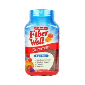 VitaFusion, Fiber Well Gummies (90 Gummies)
