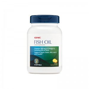 GNC Fish Oil DHA/EPA/Omega-3 90 softgels